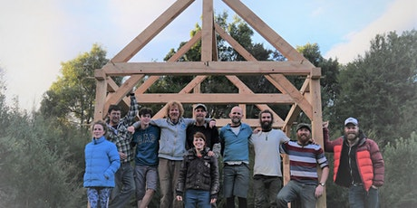 Traditional Timber Frame Joinery Course - Build a Tiny Home tickets