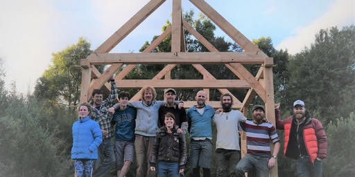 Traditional Timber Frame Joinery Course - Build a Tiny Home