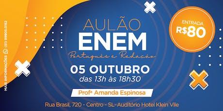 Aulão de Português e Redação - ENEM 2019 ingressos