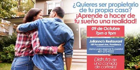 ¿Quieres ser propietario de tu propia casa? tickets