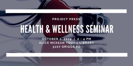 Health and Wellness Seminar tickets