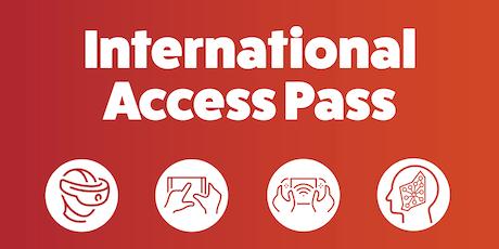 International Access Pass  program- information session tickets