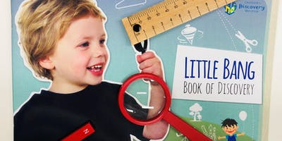 Little Bang! Discovery Club 3-5 years - Campbelltown Library