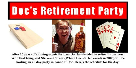 Doc's Retirement Party Bean Bag Tournament tickets