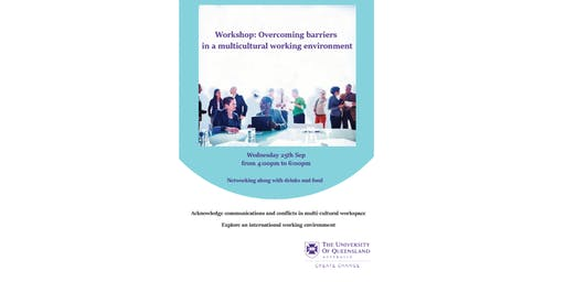 Overcoming Barriers in a Multicultural Working Environment Workshop