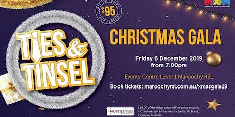 Ties & Tinsel - Christmas Gala tickets