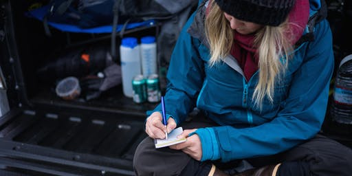 Expedition Journaling workshop With Charlotte Austin & Claire Giordano