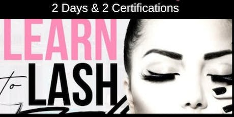 OCTOBER 28-29 TWO-DAY CLASSIC & VOLUME LASH EXTENSION CERTIFICATION TRAINING tickets