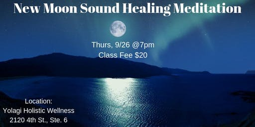 New Moon Sound Healing Meditation