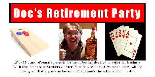 Doc's Retirement Party Poker Tournament
