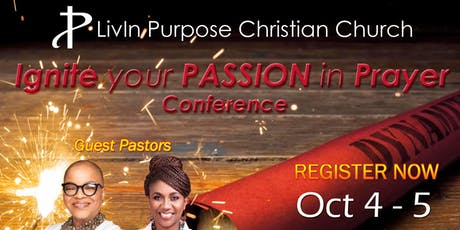 Ignite Your Passion In Prayer Conference tickets