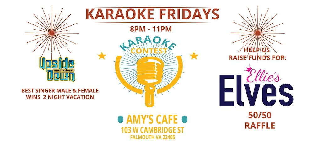 Karaoke Contest For Cause - Friday Nights Tickets, Fri, Sep