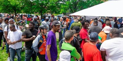 End of the Summer Cookout for the Homeless