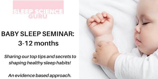 Baby Sleep Seminar: 3 months - 12 months