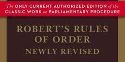 Robert's Rules Open House: Parliamentary Procedure Workshop