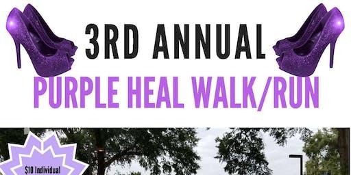 BBGDF 2019 Purple Heal Walk/Run