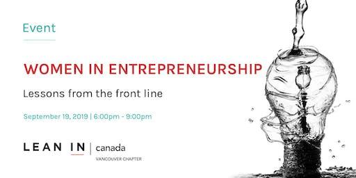Lean In Canada - Vancouver: Women In Entrepreneurship