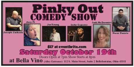 Pinky Out Comedy Show tickets