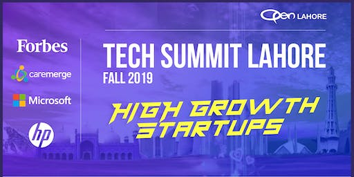 Tech Summit Lahore - High Growth Startups