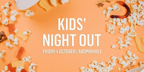 Kids Night Out | Movies and Minding tickets