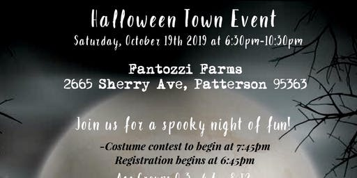 Halloween Town Event-Patterson