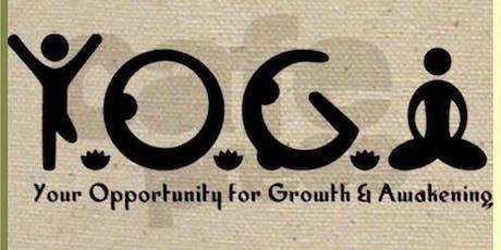 5  weeks beginner yoga series tickets