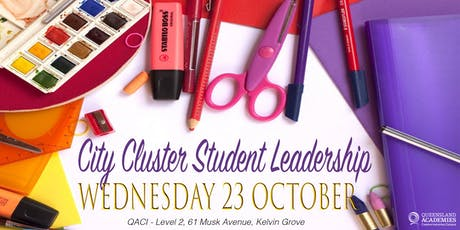 City Cluster Student Leadership Showcase tickets