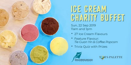 Tom's Palette x DSA(S) Ice Cream Charity Buffet tickets