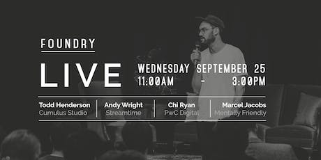 Foundry LIVE | Creative Conference tickets