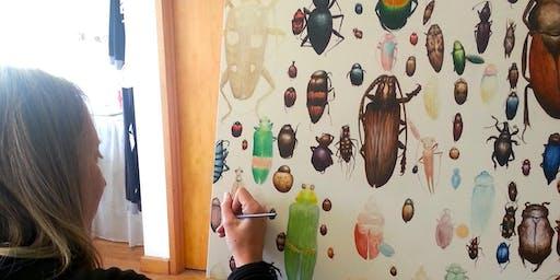 Bugging Out! Children's Holiday Art Workshop