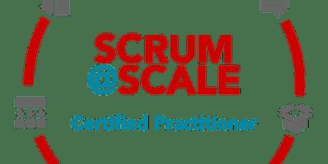 scrum@scale practitioner  tickets