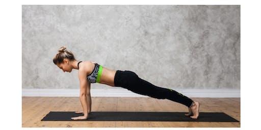 A Yoga Sip & Sample