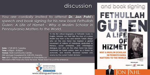 "Dr. Jon Pahl, Discussion & Book Signing ""Why A Muslim Scholar..."