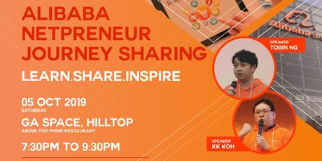 Alibaba Netpreneur Journey Sharing tickets