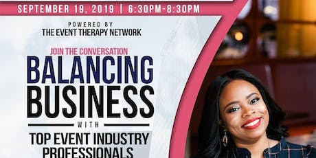 Event Therapy: Balance & Business Networking Mixer tickets