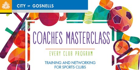 COACHES MASTERCLASS: Managing Conflict & Difficult People, City of Gosnells tickets