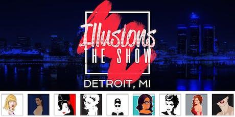 Illusions The Drag Queen Show Detroit  - Drag Queen Dinner Show - Detroit, MI tickets