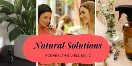 Natural Solutions for Health and Wellbeing tickets