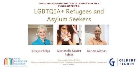 Pride Foundation Australia - LGBTQIA+ Refugees and Asylum Seeker Fundraiser tickets