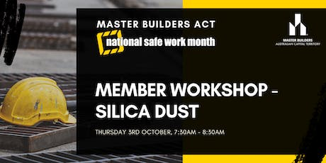 MBA Member Workshop - Silica Dust tickets