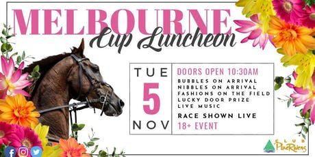 Melbourne Cup Buffet Luncheon tickets