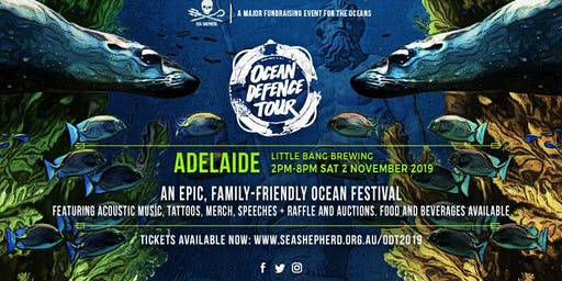 Sea Shepherd's Ocean Defence Tour 2019 - Adelaide SA