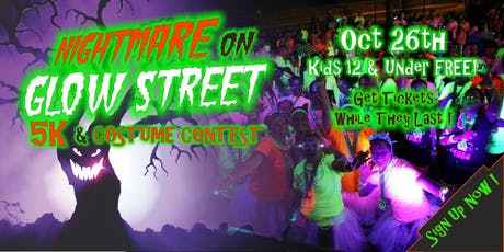 Nightmare On GLOW Street 5k & Costume Contest tickets