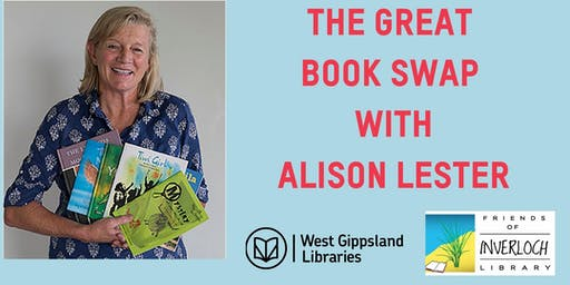 The Great Book Swap With Alison Lester- Inverloch Library