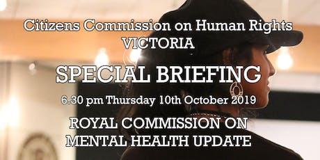 Human Rights & Mental Health tickets