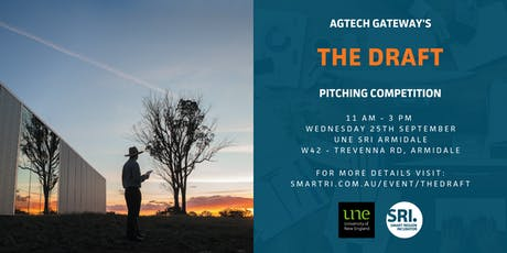 "AgTech Gateway ""The Draft"" Pitching Competition  tickets"