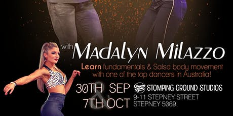 Alma de Salsa Workshops & Bootcamp with Madalyn Milazz tickets