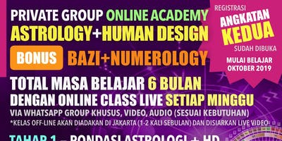 Astrology and Human Design Angkatan Kedua
