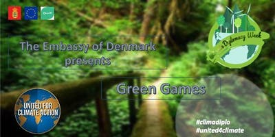 Green Games - EU Climate Diplomacy Week 2019