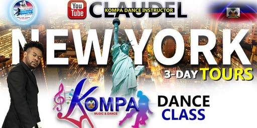 NEW YORK KOMPA DANCE CLASS -- 3 DAY --OCT 3RD - 4TH - 5TH